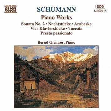 SCHUMANN, R.: Piano Sonata No. 2 / Nachtstucke / Arabeske
