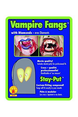 denti o canini da vampiro dracula + di 14 anni con capsula termoplastica per metterli ATTENZIONE la resa dipende fortemente dalla messa in opera e dlla forma del dente