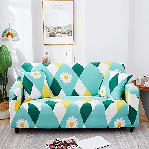 Strech Fundas de sofá Fundas de sofá elásticas para Sala de Estar Funda de sofá Antideslizante con Todo Incluido Esquina en Forma de L A34 4 plazas