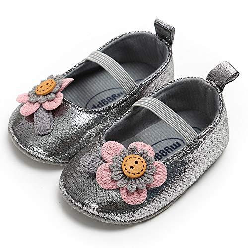 Berimaterry Zapatos de Vaquero para Bebé Niñas Otoño Invierno Zapatos de Primeros...
