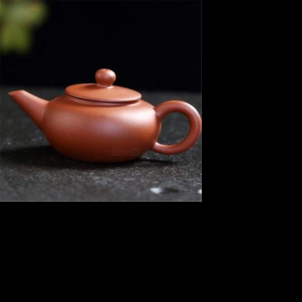FEICHAIQAZ Juego de té de Tetera de Dedo de Arcilla púrpura Mascota Juego de té de Bolsillo pequeño decoración de Mesa de café, BF: Amazon.es: Hogar