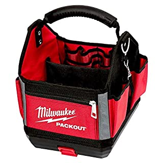 Milwaukee 0 0 932464084 PACKOUT Tote Tool Bag 25cm, Red (B07KMLW1M9) | Amazon price tracker / tracking, Amazon price history charts, Amazon price watches, Amazon price drop alerts