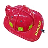 Aeromax Personalized Firefighter Helmets (Red)