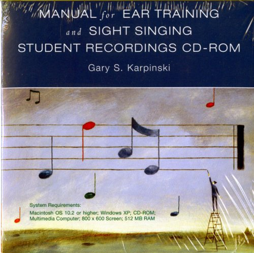 Student Recordings: for Manual for Ear Training and Sight Singing