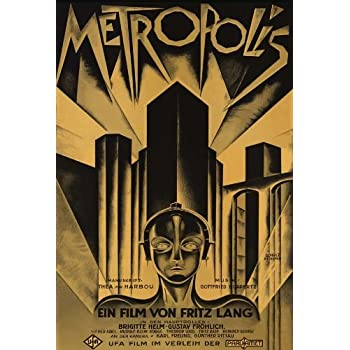 "Metropolis Poster 27/""x40/"""