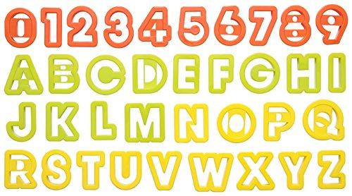 タイガークラウン『クッキー抜アルファベット&数字』