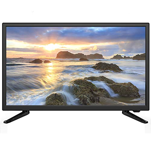 Sansui 24-Inch 720p HD LED Smart TV (S24P28DN) with Built-in HDMI, USB, High Resolution, Digital Noise Reduction, Dolby Audio Bundle with 6.5 ft    HDMI Cable and Accessories