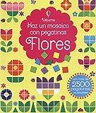 Flores. Haz Un Mosaico Con Pegatinas