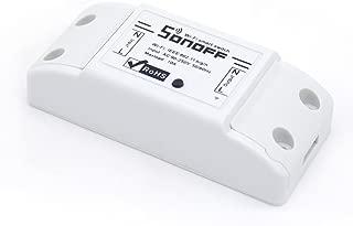 KKHMF SONOFF 電源リモートスイッチ スマートで電源を制御 wifi コンセント APPでコントロール 日本語説明書付き