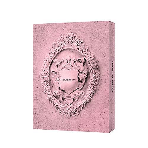 YG Entretenimiento [Oficial] Seleccione Blackpink 2ND Mini Álbum [Kill This Love] (Pink Ver.) CD+La caja para CD+Photolook+Las letras de papeles+El póster plegado+fotocard+Photozine+Sticker Set…