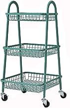 XINGDONG półka wózek wózek ze stali węglowej stojak na wózek domowy wózek kuchnia przechowywanie wielofunkcyjne ruchome wi...