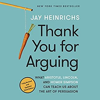 Thank You for Arguing, Third Edition audiobook cover art