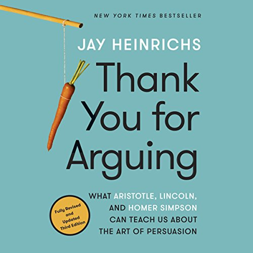 Thank You for Arguing, Third Edition  By  cover art