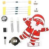 DIY Santa Claus Navidad de la decoración del ornamento de la música Kit 1 Set