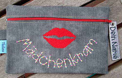 MÄDCHENKRAM Schminktäschchen personalisierbar mit Namen Schminktasche kleine Tasche Ostergeschenk Ostern Geschenk