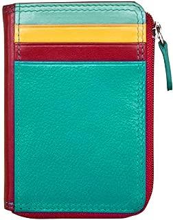 ili New York 7411 Leather Credit Card Holder (Southwest)