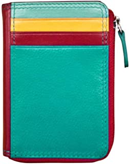 ili New York 7411 Leather Credit Card Holder (Southwest)