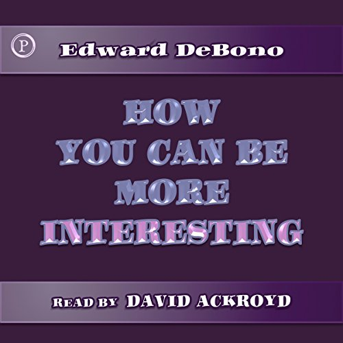 How You Can Be More Interesting audiobook cover art