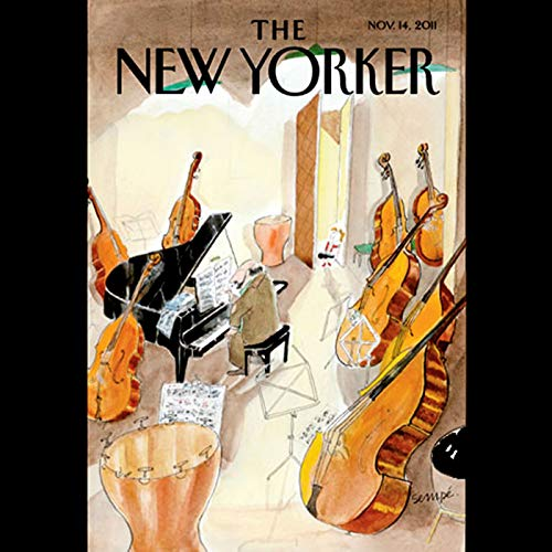 The New Yorker, November 14th 2011 (Nicholas Schmidle, Steve Millhauser, James Surowiecki) cover art