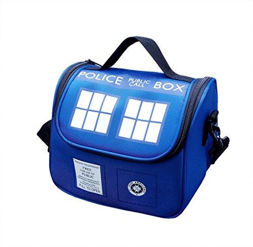 Police Public Call Box Lunch Bag