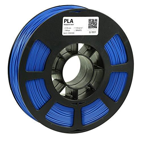 KODAK PLA Filament 1.75mm for 3D Printer, Blue PLA, Dimensional Accuracy +/- 0.03mm, 750g Spool (1.7lbs), 1.75 PLA Filament Used as 3D Filament Consumables to Refill Most FDM Printers