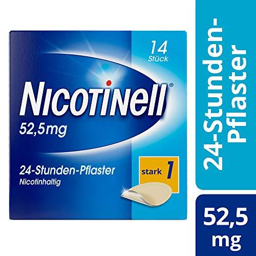 Nicotinell 21 mg/24-Stunden-Pflaster (bisher 52,5 mg) Stärke 1 (stark), 14 St. Pflaster