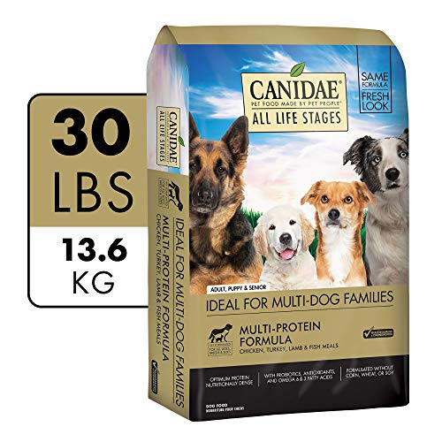Dog | CANIDAE All Life Stages, Premium Dry Dog Food, Multi-Protein Recipe, 30 lb, Gym exercise ab workouts - shap2.com