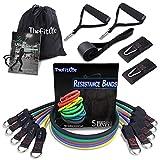 Bandas Elasticas Fitness Musculacion - Tubos de Entrenamiento para Deportes Interiores o Exteriores, Fitness,Fuerza y Velocidad, Gimnasio en casa o Yoga