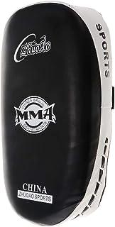 Homyl カーブド アーム UFC MMA ムエ ボクシング キック レッグ パッド ストライク フォーカス パンチ 打撃吸収 シールド 白黒