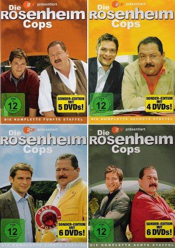 Die Rosenheim Cops - Staffel 5-8 (21 DVDs)
