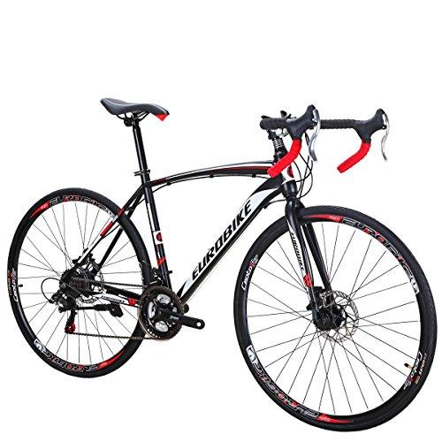 Bicicleta de carretera XC550 Bicicleta 21Speed Bicicleta Freno de Disco Bicicleta 49CM marco