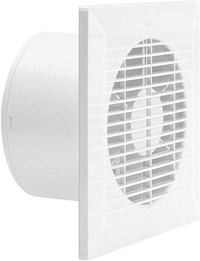 QZH Ventilador de Escape, Ventilador de ventilación de Techo de Descarga Vertical Blanco, Ventilador de Escape de Techo para baño (tamaño: 4 Pulgadas)