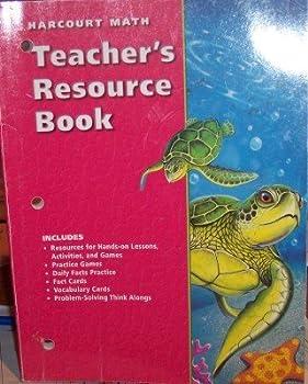 Paperback CA Tchr Res Bk G4 Harc Math 02 Book