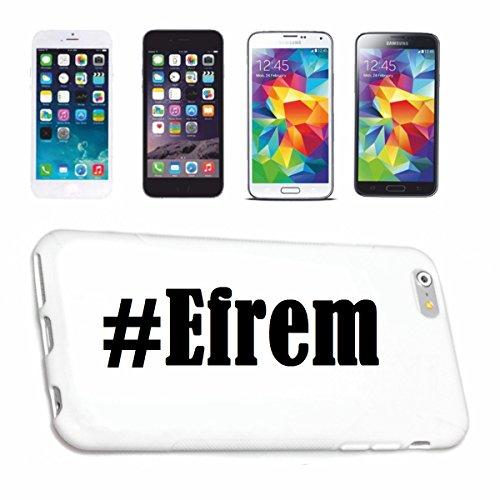 Reifen-Markt Handyhülle kompatibel für iPhone 7S Hashtag #Efrem im Social Network Design Hardcase Schutzhülle Handy Cover Smart Cover