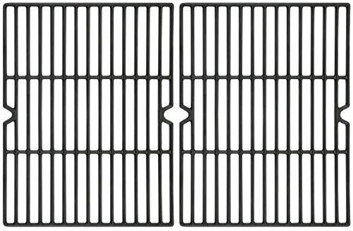 Permasteel PP-20403B-CG-AM Replacement Grids for Kenmore 4 Burner Grills, (Set of 2), Black