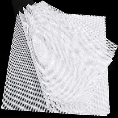 Kispog 10 Pcs/Sets Silicone Dehydrator Sheets for Food Dehydrator Machine, Premium Non-Stick Silicone , Square 14x14 in