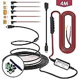 SHISHUO Dash Cam Hardwire kit - Mini USB cavo 3.5 m con LP Mini/Mini/ATO/MICRO2 Fuse, Uscita 5V / 2A per Dash Cam GPS Navigatore Satellitare con Batteria di Scarico Della