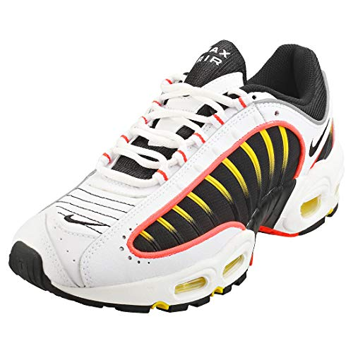 Nike Air Max Tailwind IV Herren Running Trainers AQ2567 Sneakers Schuhe (UK 6 US 7 EU 40, Black White Bright Crimson 109)