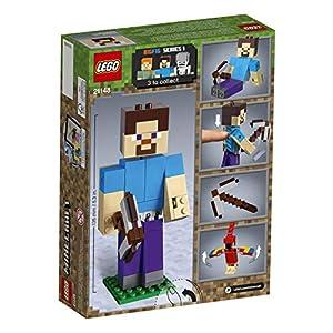 Amazon.co.jp - レゴ マインクラフト ビッグフィグ スティーブとオウム 21148