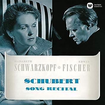 Schubert: Song Recital