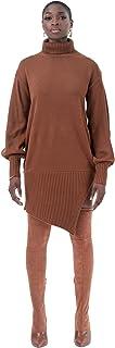 Pantora womens Knit Assym Dress Dress