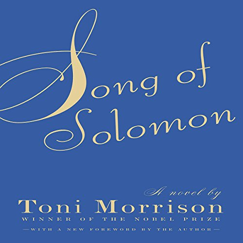 Song of Solomon audiobook cover art