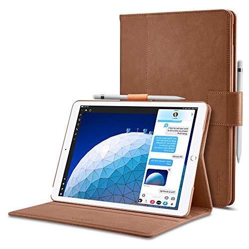 Spigen Stand Folio Designed for iPad Air 3 Case (10.5 inch 2019) - Brown
