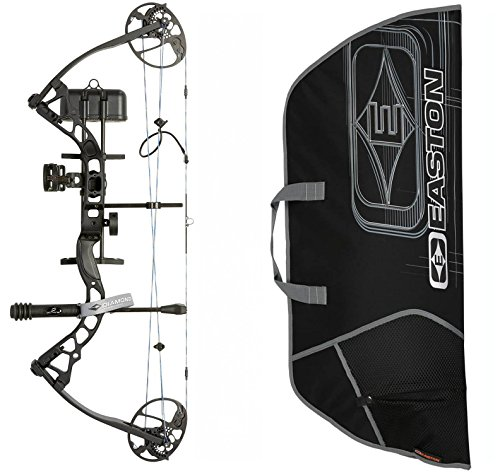 Diamond Infinite Edge Pro Compound Bow Package, Black, Right Hand, with Soft Bow Case
