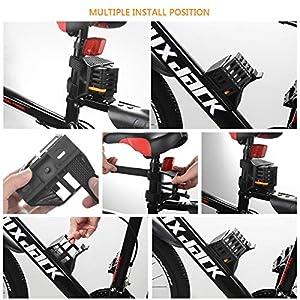 FORMIZON Candado Plegable para Bicicleta, Cerradura de Bicicleta, Candado Plegable Antirrobo Cerradura Dura Cadena 85cm con Llaves y Soporte de Bloqueo para Bicicleta de Montaña/Carreras/BMX/MTB