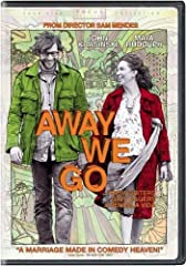 The making of Away We Go Green filmmaking Feature commentary with Director Sam Mendes and Writers Dave Eggers and Vendela Vida