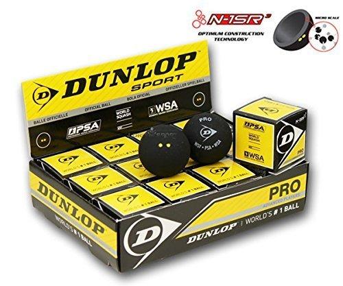 Dunlop Pro Squash Bälle - 12er Box NEU!