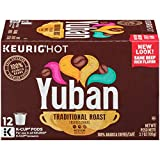 Yuban Traditional Medium Roast K-Cup Coffee Pods (72 Pods, 6 Packs of 12)