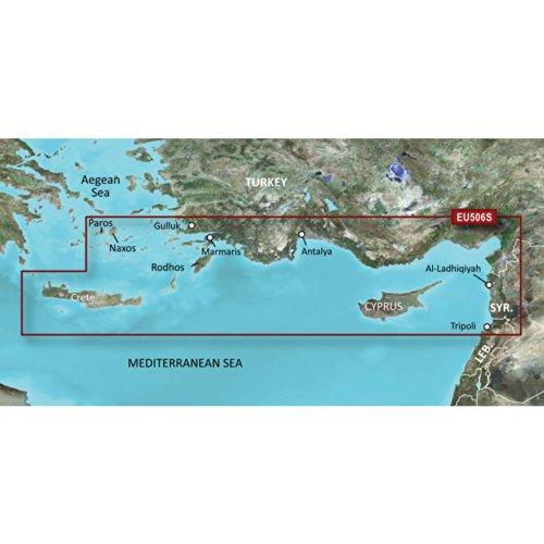 GARMIN VEU506S CRETE TO CYPRUS BLUECHART G2 VISION