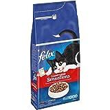 FELIX CountrysideSensations Katzenfutter trocken, mit Rind und Huhn, 6er Pack (6 x 2kg)